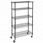 Buy cheap 350kgs Heavy Duty Garage Storage Chrome Metal Wire Shelving NSF & BSCI Certificate from wholesalers