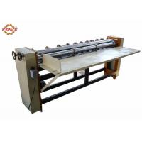 Buy cheap 1800 Four Bar Rotary Cutting Creasing Machine , Corrugated Cardboard Box Dividers For Corrugated Sheet product