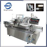 Buy cheap Automatic 10ml Body Spray Bottle Liquid Filling Capping Machine from wholesalers