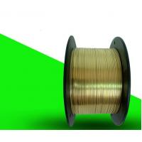 Buy cheap Industrial Copper Ribbon Wire1.5* 0.5mm  Corrosion Resistant Advanced Technology from wholesalers