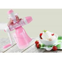 Wholesale Handmade Flavored Fruit Ice Cream Maker Hand Crank Non Electric Juice Machine from china suppliers