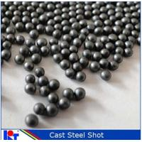 Buy cheap metal abrasive cast steel shot S390 from wholesalers