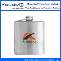 Buy cheap Stainless Steels Hip Liquor Bottle With Logo from wholesalers
