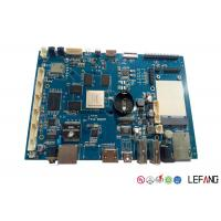 Wholesale LF - HASL 94V0 Turnkey Pcb Manufacturing HD LCD Circuit Board Blue Solder from china suppliers
