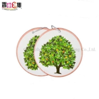 Wholesale New eco-friendly customized long fragrance car air freshener with logo from china suppliers