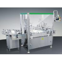 Buy cheap Cream Automatic Filling And Capping Machine 220v 50hz 1700 × 1300 × 1350 Mm from wholesalers
