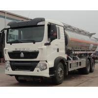 Buy cheap 6*4 Oil transportation Tank Truck Trailer / oil storage tankers 20000L Volume from wholesalers