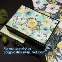 Buy cheap Free sample Luxury velvet drawer packaging perfume custom paper box with logo stamping golden,headband packaging box for from wholesalers