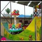 Buy cheap New  amusement park rides kids track rides double wave sliding car fairground rides from wholesalers