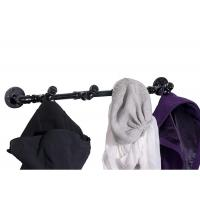 Buy cheap Electroplated Finished Coat Rack 4 Clothes Hooks Malleable Iron Material from wholesalers