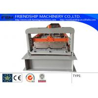 Buy cheap PLC Control 0.6-1.0MM Thickness Color Steel Roof Panel Roll Forming Machine Used 1000MM Coil from wholesalers