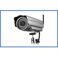 Dual stream HVR / NVR / NVD Wireless Ip Cameras outdoor , 1.3 Million Pixels Manufactures