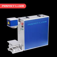 Colorful Fiber Laser Marking Machine Air Cooling For Stainless Steel Manufactures