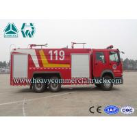 Wholesale 6x4 HOWO Dry Foam Combined Fire Fighting Truck For Petrochemical Enterprise from china suppliers