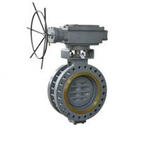 Buy cheap Bi-directional Metal-seated Butterfly Valve for power station from wholesalers