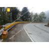 Buy cheap Hot Dip Galvanized EN1317 Roller Crash Barrier from wholesalers