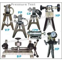 Buy cheap Hand Pump Test Vacuum and Pressure Henry from wholesalers