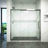 Buy cheap Dry Wet Separation One Type Glass Shower Door from wholesalers