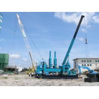 Wholesale Rotary Hydraulic Piling Machine , Precast Concrete Pile Pressing Machines from china suppliers