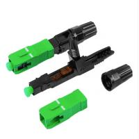 Buy cheap Blue Fiber Optic Connectors No Epoxy Or Polishing Required Free Sample from wholesalers