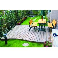Buy cheap Engineered WPC Decking Flooring With Customized Color For Outdoor Decorative from wholesalers