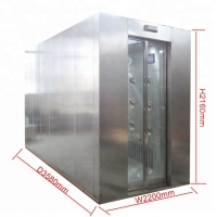 Buy cheap Food factory Stainless steel Air shower from wholesalers