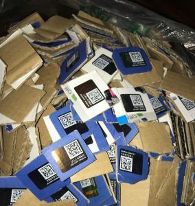 China Genuine Original Brother Hologram Brother Security Label Sticker Brother Toner Hologram for Brother Toner Cartridge on sale
