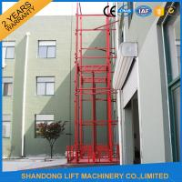 Buy cheap Guide Rail Chain Hydraulic Elevator Lift , Home Cargo Double Cylinder Hydraulic Lift from wholesalers