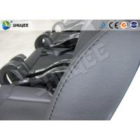 Buy cheap Black / Red Genuine Leather 5D Movie Theater , Fiberglass Chair Electronic System from wholesalers