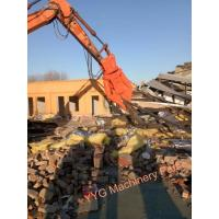 Buy cheap Double Cylinder Hydraulic Rotating Concrete Scrap Steel Shear For Excavator from wholesalers