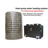 Wholesale Golden Color Commercial Heat Pump Water Heater 5 KW Heating Capacity from china suppliers