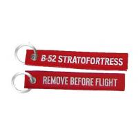Air Force B-52 Stratofortress Remove Before Flight Embroidered Fob Key Chain Manufactures