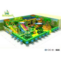 Wholesale Jungle Theme Childrens Soft Play Centre , Soft Playgrounds For Toddlers from china suppliers