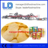 Buy cheap Stainless Steel Potato Chips Making Machine / Food Processing Line from wholesalers