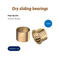 Buy cheap Wrapped Split Type Bronze Bushing CuSn8P DIN 1494 / ISO 3547 For Containers from wholesalers