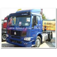 Buy cheap Howo 6x4 tractor head trailer in tanzania for pulling tanker trailer with warranty and parts from wholesalers
