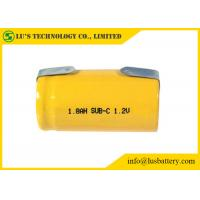 Buy cheap SC 1800mah 1.2V Nickel Cadmium Battery NICD Charger Cylindrical Cell Type from wholesalers