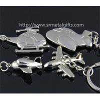 Buy cheap Metal air plane keychains, combat aircraft drop pendant keyrings, jet aircraft key chains, from wholesalers