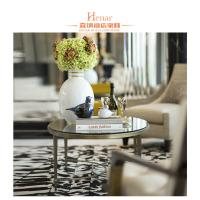 Buy cheap Hotel Luxury Living Room Furniture , Modern Stainless Steel Round Marble Table End from wholesalers