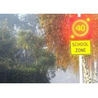 Buy cheap High Brightness Road Electronic Speed Limit Signs , Led Display Board For School Safety Signs from wholesalers