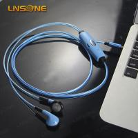 Buy cheap Hight qulaity 3.5mm led light waterproof earphones china wholesale from wholesalers