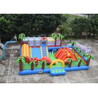 Buy cheap Residential 3--12 Age Kids Inflatable Bouncer Toddler Bounce House Jurassic Style from wholesalers