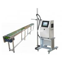 Buy cheap Un - Contiguous Marking System Industrial Inkjet Printers / Egg Printing Machine from wholesalers