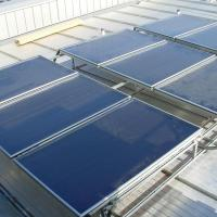 High efficiency flat plate solar collector made in China