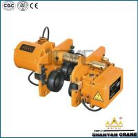 China electric hoist trolley & wire rope electric hoist & electric chain hoist on sale