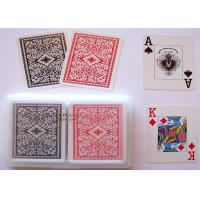 Buy cheap Gamble Cheat Modiano Cristallo Marked Poker Cards Plastic Material Water Resistant from wholesalers