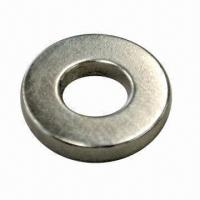Buy cheap NdFeB Permanent Magnet in Ring Shape, with Grade N35 Zinc-plated from wholesalers