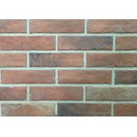 3D21-1 Durable Heat Resistant Artificial Wall Thin Veneer Brick Tiles For Outdoor 12mm Thickness Manufactures