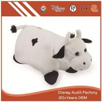 China Custom Cow Plush Throw Pillow on sale