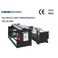 PLC Controller Slitter And Rewinder Machine High Accuracy 240 m / min Slitting Speed Manufactures